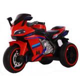 Motocicleta electrica cu lumini LED Legend Red, Moni