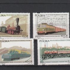 Transporturi .150 de ani cai ferate ,locomotive,Polonia.