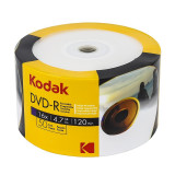DVD-R Kodak printabil full surface, 4.7 GB, 16X, set 50 discuri