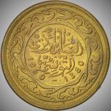 Moneda EXOTICA 10 MILLIM - TUNISIA, anul 1960  *cod 726 B - UNC - luciu / patina
