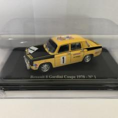 Macheta Renault 8 Gordini Coupe 1970 N°1 Eligor Dacia 1100