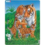 Cumpara ieftin Puzzle Tigru, 23 Piese Larsen LRD6 B39016770