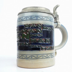 Halba veche ceramica - Camioane  Reclama M. A. N. - MAN
