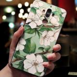 Husa de telefon cu para si floare rosie de bujor, pentru Huawei P9/p10/p20/p20lite/p10plus