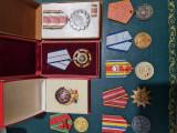 Lot 9 medalii, merite romania