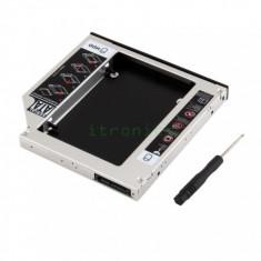 Caddy HDD SSD Unitate Optica CD-ROM SATA Laptop 9.5mm