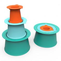 Set forme de nisip Alto verde/albastru/portocaliu