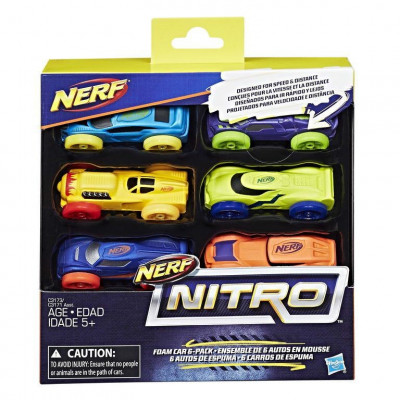 Set 6 masinute Nitro Nerf foto