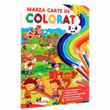 Marea carte de colorat 3-4 ani  , Aramis