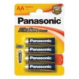 Set 4 baterii Panasonic Alkaline Power AA R6
