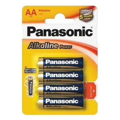 Set 4 baterii Panasonic Alkaline Power AA R6 foto