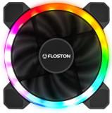 Cumpara ieftin Ventilator Floston HALO RAINBOW DUAL RGB, 120mm