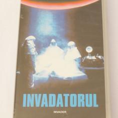Caseta video VHS originala film tradus Ro - Invadatorul