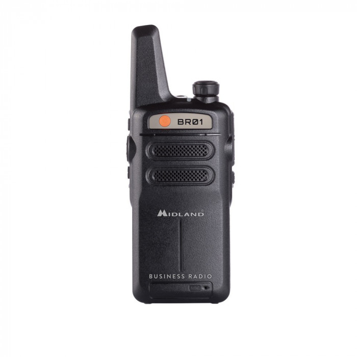 Resigilat : Statie radio PMR portabila Midland BR01 Cod C1315