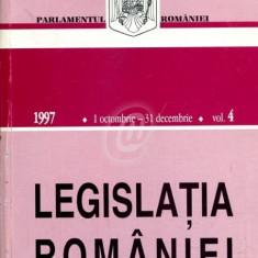 Legislatia Romaniei, 1 octombrie-31 decembrie 1997, vol. 4