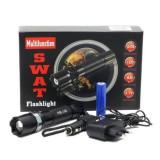 Cumpara ieftin Lanterna metalica SWAT - LED Q5 CREE, Rezistenta la apa