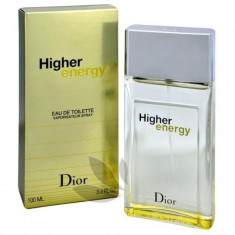 Apa de toaleta Tester Barbati, Christian Dior Higher Energy, 100ml, 100 ml