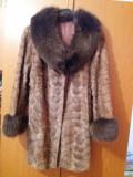 Blana de nurca cu vulpe polara