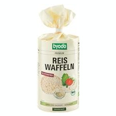 Vafe din Orez si Quinoa Bio Fara Gluten Byodo 100gr Cod: 427072