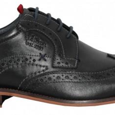 Pantofi barbati din piele s.Oliver 5-5-13205-20 001 black