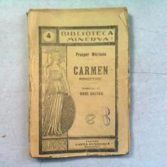 CARMEN - PROSPER MERIMEE (POVESTIRE)