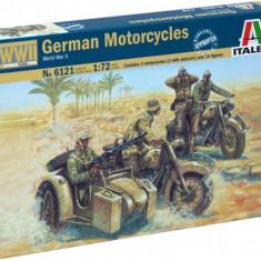 1:72 WWII - GERMAN MOTORCYCLES 1:72
