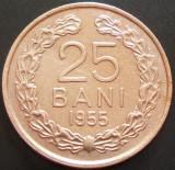 Moneda 25 LEI - RP ROMINA, anul 1955   *cod 3119