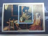 RWANDA 1975,PICTURA VERMEER,COLITA MNH, Nestampilat