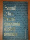 SCURTA CUNOSTIINTA A ISTORII ROMANILOR - SAMUIL MICU 1963