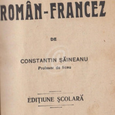 Dictionar roman-francez (Ed. Samitca)