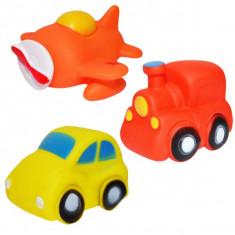 Jucarie chitaitoare - 3 vehicule/set
