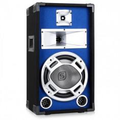 """Skytec Subwoofer 25cm(10"""") LED efect albastru 400W"""