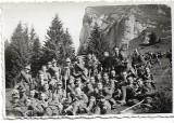 Fotografie elevi militari romani Muntele Zaganul 1935