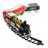 Trenulet de jucarie pentru copii, cu baterii, sunete si lumini - 70199