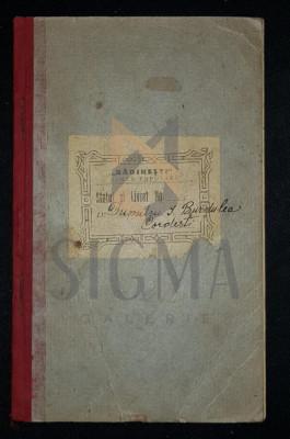 "STATUTELE BANCEI POPULARE COOPERATIVE ""RADINESTI"" - DIN COMUNA RADINESTI, JUDETUL GORJIU (Gorj), 1925, Targu-Jiu foto"