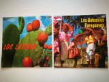 Lot 2 Discuri vinil muzica latino: Los Latinos, Los Bohemios Paraguayos.