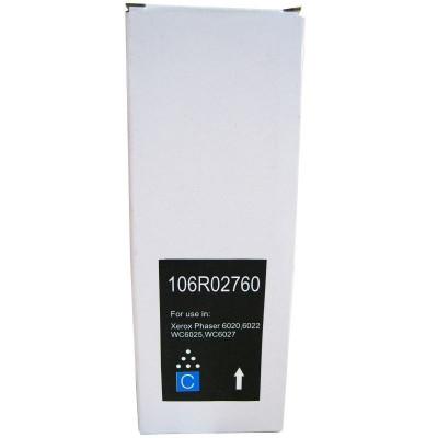 Cartus toner RETECH compatibil cu Xerox 6020 cyan foto