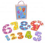 Puzzle-ul cifrelor 1 - 9, Bigjigs