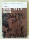 Contribution à l'étude de l'art thraco-gète  / D. Berciu
