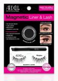 Gene False Magnetice Ardell Wispies + Eyeliner gel