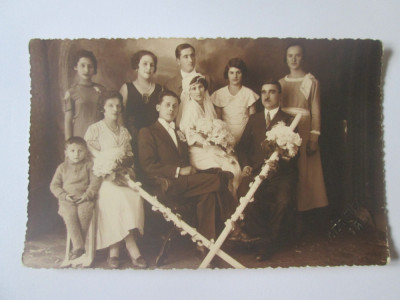 Fotografie colectie model carte postala,Iasi 1935 foto