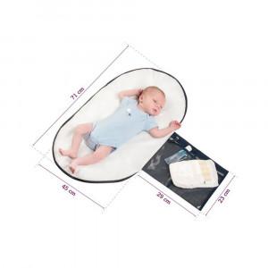 Geanta de infasat Lara Asphalt Clevamama for Your BabyKids