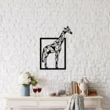 Decoratiune pentru perete, Ocean, metal 100 procente, 45 x 60 cm, 874OCN1037, Negru