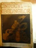 Adrian Maniu- Cantecul Nibelungilor -repovestit -ilustratii A.Damian ,Ed.1958