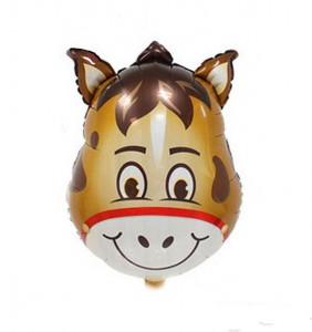 Balon mare pentru Petreceri Copii, Cap de Magar, 63x45cm, Heliu sau Aer