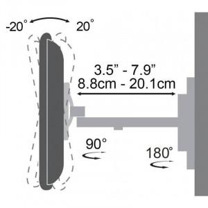 Suport TV SBox LCD-441 23-55 inch