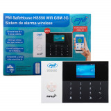 Aproape nou: Sistem de alarma wireless PNI SafeHouse HS550 Wifi GSM 3G cu monitoriz