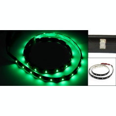 Banda led, de culoare verde, 60 cm, 30 led-uri smd 3528, rezistenta la apa