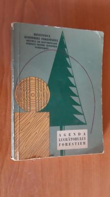 Agenda Lucratorului Forestier. anul 1964 foto
