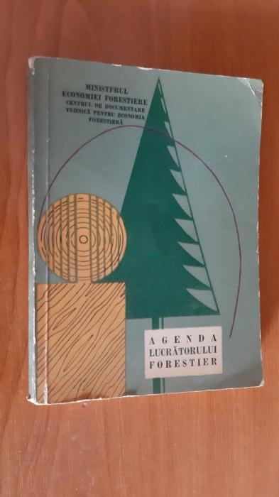 Agenda Lucratorului Forestier. anul 1964